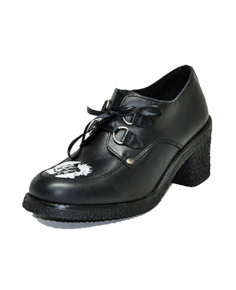 Chaussure compensée noire Steelground