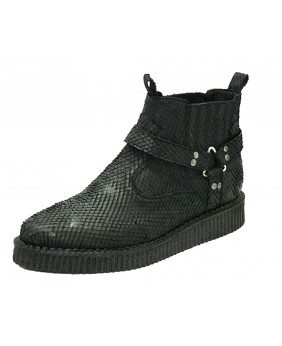 black High-top creepers in...