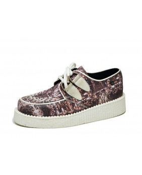 Creepers in leather and...