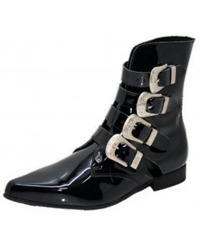 copy of Black patent boot...