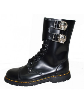 Black 10 eyelets rangers in...