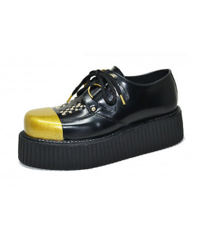 black and gold Creepers in...