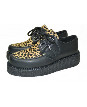 black and leopard Creepers...