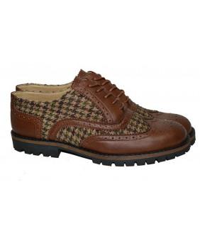 Zapato marrón de Piel...
