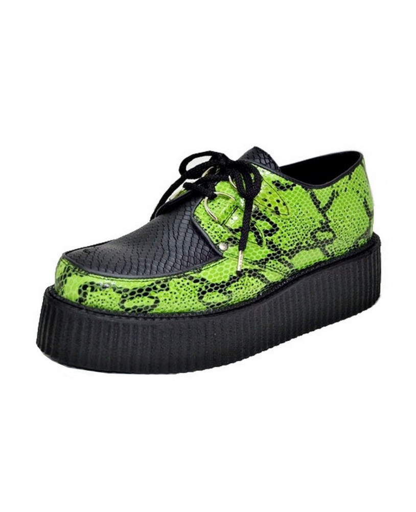 Creepers verte et noire Steelground