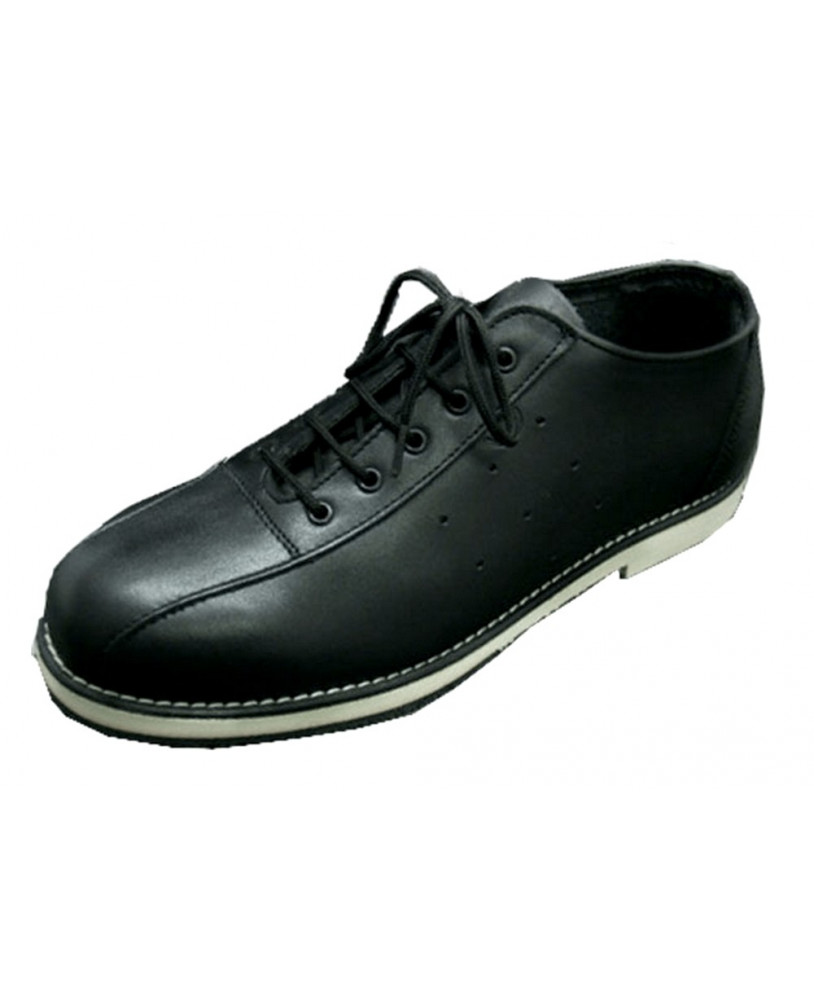 grained leather Bowling shoe Steelground