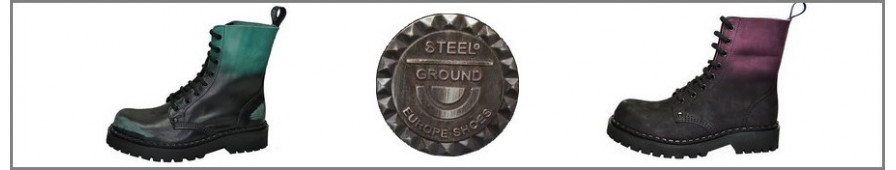 Collection of Rangers 08 eyelets of the Steelground brand