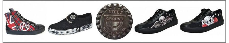 Steelground-Kollektion von Herren-Turnschuhen