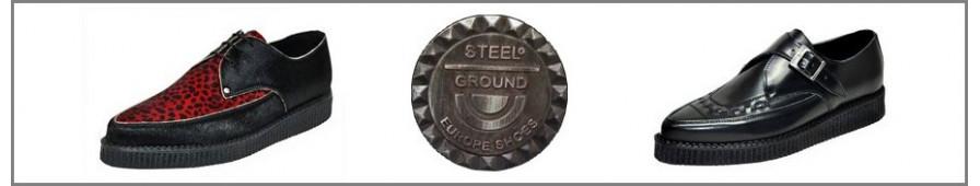 Sammlung von Creepers spitz der Marke Steelground.