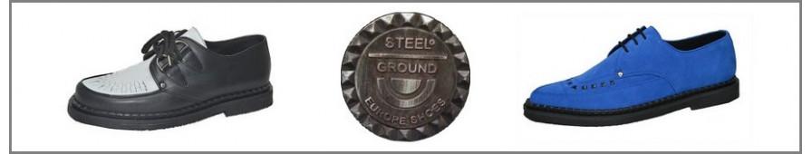 Creepers a suelas finas Steelground