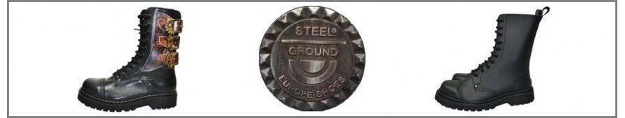 La colección de Rangers 10 ojales de Steelground.