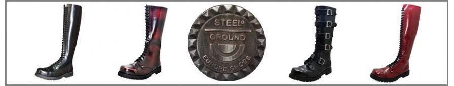 Colección de botas Rangers a los 20 y 30 ojales de Steelground