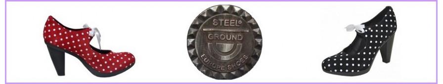 Sammlung pumps steelground