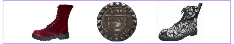 Rangers 08 occhielli Steelground per donne