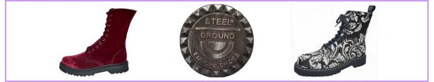 Rangers 08 trous Steelground pour femmes