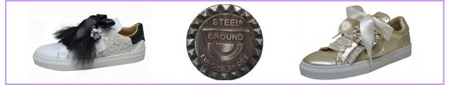 Sportschuhsammlung für Frau der Marke Steelground