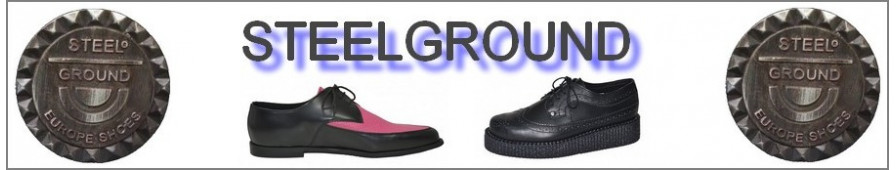 Los tipos de zapatos y botas hombres de Steelground