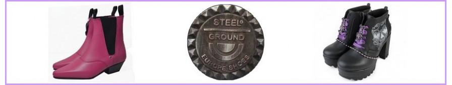Alle die Sammlung Damenhalbstiefel Frauen von Steelground
