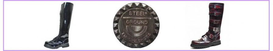 Botas rangers 20 y 30 hoyos para mujer de Steelground