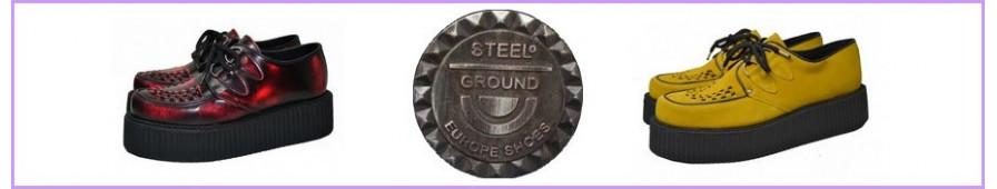 Creepers Steelground mit Doppelsohle für Frauen