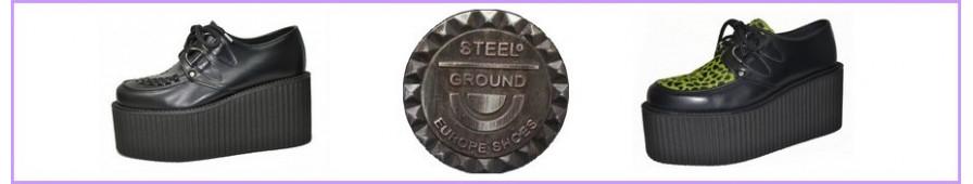 Creepers Steelground an dreifacher Sohle für Frau