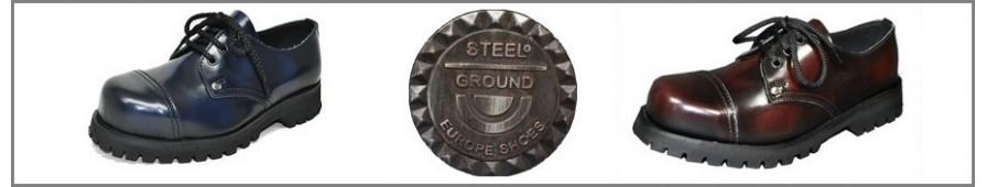 Colección de zapatos rangers Steelground