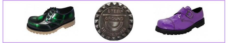 Rangers trois trous Steelground pour femmes.