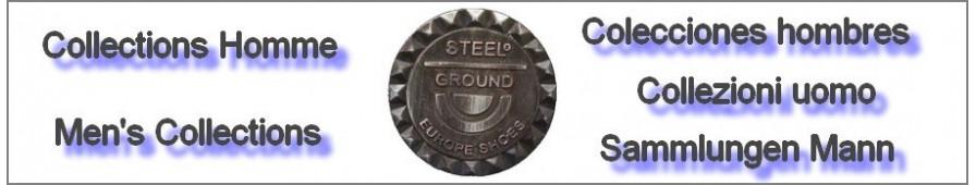 Colecciones de zapatos y de bota Steelground para hombres